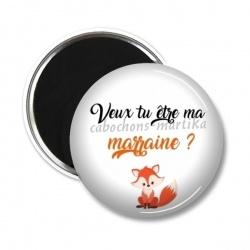 Magnet's - Veux tu être ma MARRAINE ?