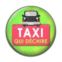 Cabochon Résine - taxi