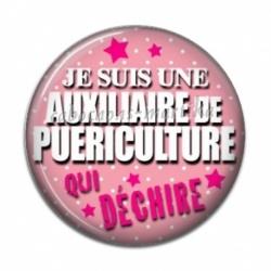 Cabochon Résine - auxiliaire puericultrice