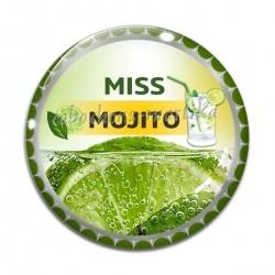 Cabochon Verre - miss mojito