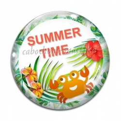 Cabochon Verre - summer time