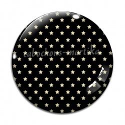 Cabochon Verre - étoile