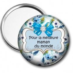 Miroir de poche - pour la meilleure maman du monde