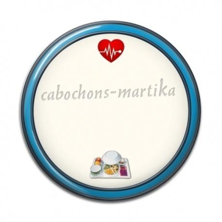 Cabochon Résine - PERSONNALISATION