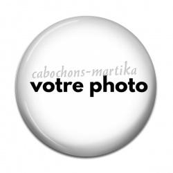 Cabochon Résine - personnaliser votre cabochon avec une photo