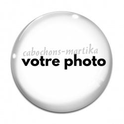 Cabochon Verre - personnaliser votre cabochon avec une photo