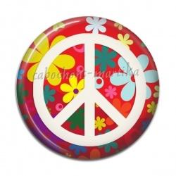 Cabochon Résine - peace