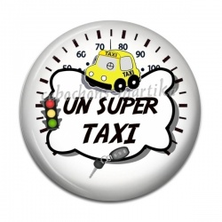 Cabochon Résine - un super taxi