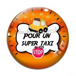 Cabochon Verre - pour un super taxi