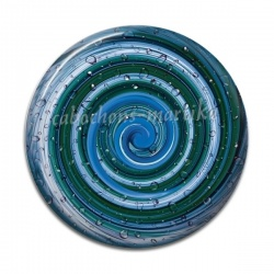 Cabochon Résine - spirale