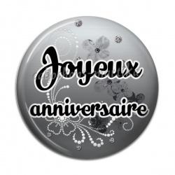 Cabochon Résine - joyeux anniversaire