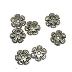 perle métal argenté