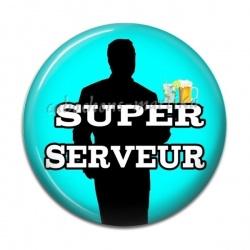 Cabochon Résine - super serveur