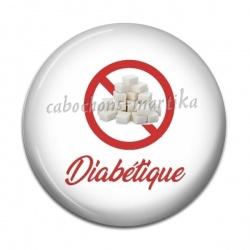 Cabochon Résine - diabétique