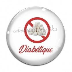 Cabochon Verre - diabétique