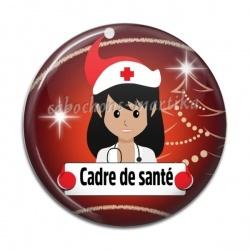 Cabochon Résine - cadre de santé
