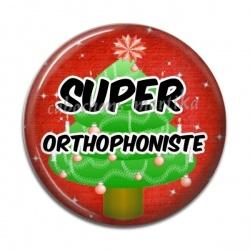 Cabochon Résine - super orthophoniste