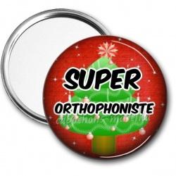 Miroir de poche - super orthophoniste