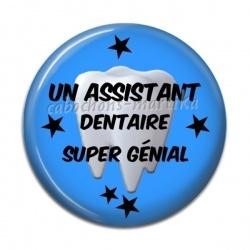 Cabochon Résine - Un assistant dentaire super génial