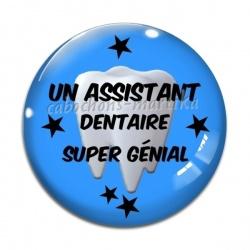Cabochon Verre - Un assistant dentaire super génial