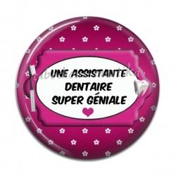 Cabochon Résine - Une assistante dentaire super géniale