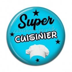 Cabochon Résine - super cuisinier