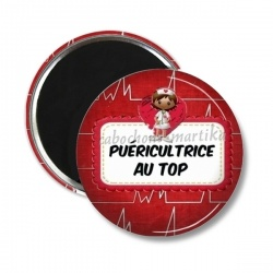 Magnet's - Puéricultrice au top