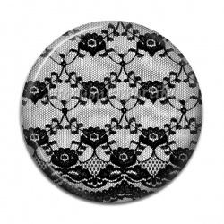 Cabochon Résine - dentelle