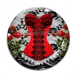Cabochon Verre - corset