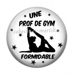 Cabochon Résine - une prof de gym formidable