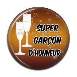 Cabochon Résine - super garçon d'honneur