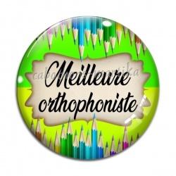 Cabochon Verre - meilleure orthophoniste