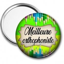 Miroir de poche - meilleure orthophoniste