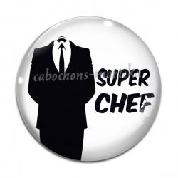 Cabochon Verre - super chef