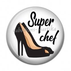 Cabochon Résine - super chef