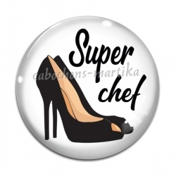 Cabochon Verre - super chef