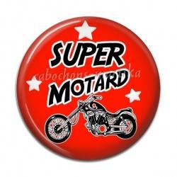 Cabochon Résine - super motard