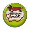 Cabochon Résine - VÉTÉRINAIRE FORMIDABLE
