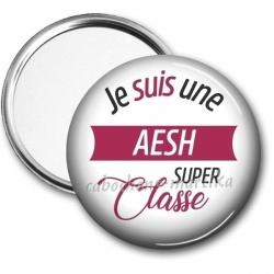 Miroir de poche - je suis une AESH super classe