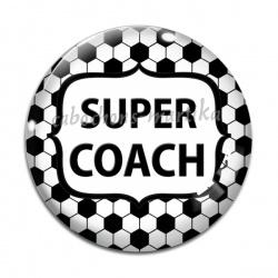 Cabochon Verre - super coach