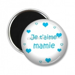 Magnet's - je t'aime mamie