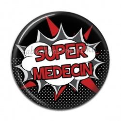 Cabochon Résine - super médecin