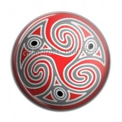 Cabochon Résine - motifs triskel